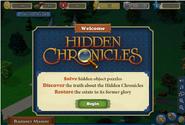 HC Welcome Screen