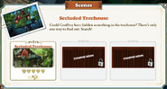 Location Secluded Treehouse-info