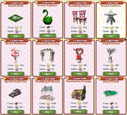 Limited Valentines Marketplace Sample Items