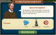 Quest I've Got You Covered 3-Rewards