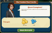 Quest The Voodoo That You Do-Rewards