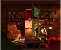 Bibliothek offen