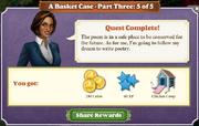 Quest A Basket Case-Part Three 5-Rewards