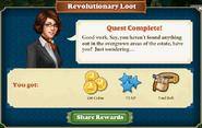 Quest Revolutionary Loot-Rewards