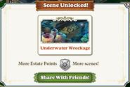 Scene Unlocked Underwater Wreckage