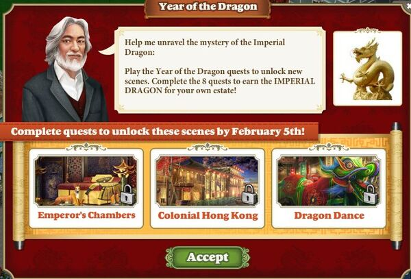 Quest Year of the Dragon-Screenshot