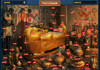 FastFind Scene Tut's Tomb-Map