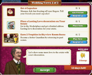 Quest Wedding Vows 2-Tasks