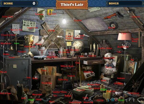 Thief's lair