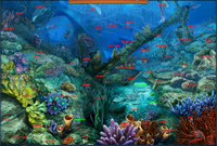 Scene Underwater Wreckage-Map