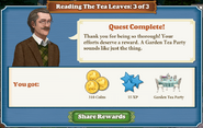 Quest Reading The Tea Leaves 3 Complete-Screenshot