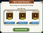 Energy-Aks for Energy Window