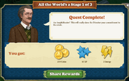 Quest All the World's a Stage 1-Rewards