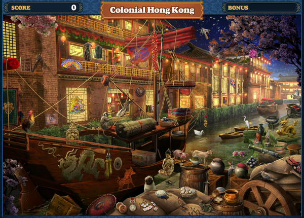Scene Colonial Hong Kong-Screenshot