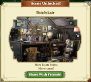 Scene Unlocked Thief's Lair