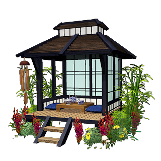FileMarketplace Japanese Tea House Icon
