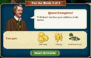 Quest For the Birds 3-Rewards