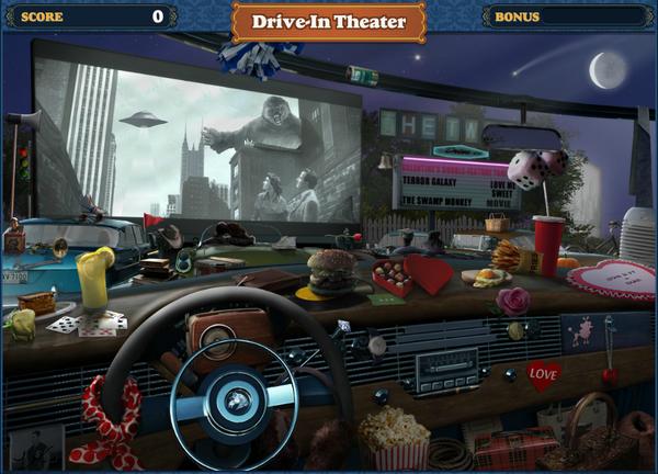 Scene Drive-In Theater-Screenshot