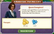 Quest A Basket Case-Part 5 of 5-Rewards