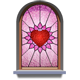 Material Stained Glass-icon