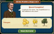 Quest All the World's a Stage 3-Rewards