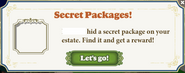 Secret Package hidden