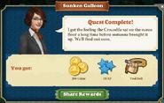 Quest Sunken Galleon-Rewards