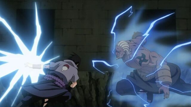 File:1000px-Sasuke vs the Raikage anime.jpg