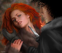 Jon conoce a Ygritte by M.Luisa Giliberti©