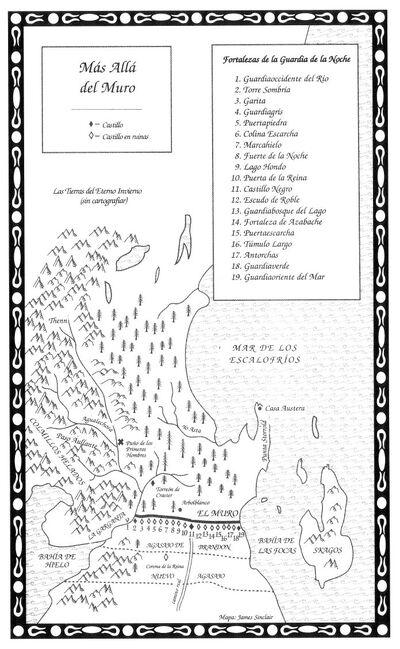 Mapa Más allá del Muro TdT