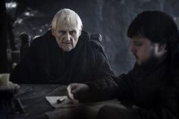 Maestre Aemon y Samwell HBO