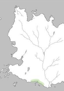 Mapa Costa Naranja
