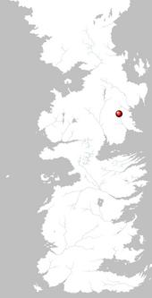 Mapa Hornwood