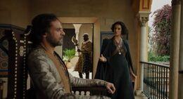 Ellaria discute con Doran HBO