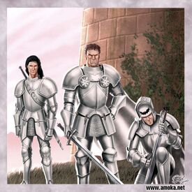 Guardia Real en la Torre de la Alegría by Amoka©