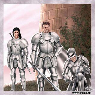 Guardia Real de Aerys II en la Torre de la Alegría by Amoka©