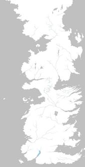 Mapa río Torentine