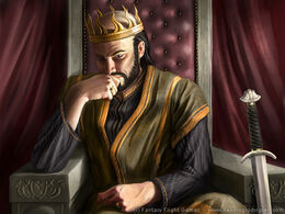 Stannis Baratheon by Henning Ludvigsen, Fantasy Flight Games©