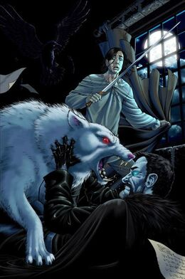 Jon & Ghost by Mike S. Miller©