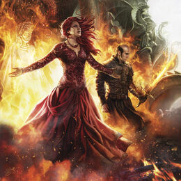 Melisandre y Stannis by Magali Villeneuve©