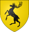 Casa Baratheon estandarte