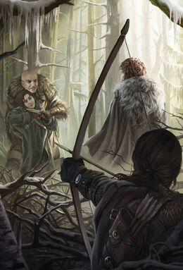 Saving Bran by Magali Villeneuve©
