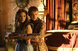 Joffrey y Margaery HBO