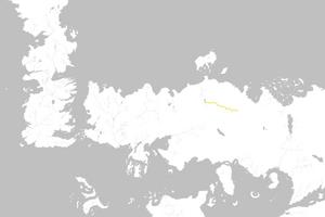Mapa Camino de Acero