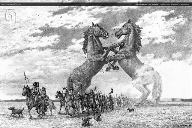 Archivo:Vaes Dothrak by Ted Nasmith©.jpg