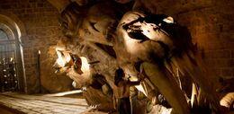 Cráneo de dragón HBO