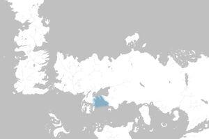 Mapa Golfo de las Penas