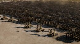 Asedio Meereen catapultas HBO