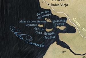 Mapa Islas Escudo