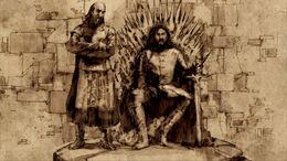Rey Robert y Jon Arryn HBO